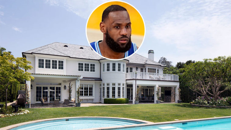 LeBron James Lists Spare Brentwood Park Mansion at a Loss